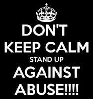Don't keep calm. Stand up
